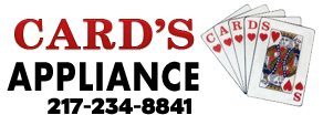 Card's Appliance Sales and Service Logo